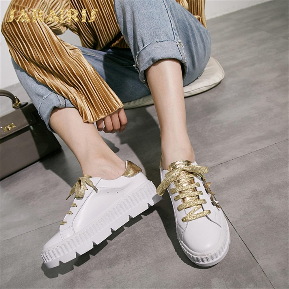 SARAIRIS New Arrivals Hot Sale Lace Up Women Shoes Platform