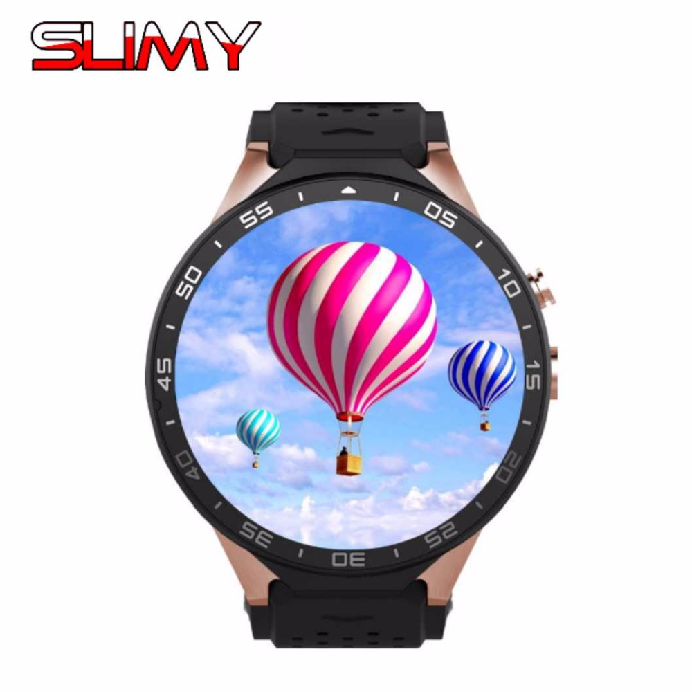 Slimy KW88 Bluetooth Smart Watch Phone 3G Wifi Smartwatch Android 5.1 MTK6580 Quad Core 512M/4GB for IOS Android Smartphone smart watch y3 1 39 inch android 5 1 phone mtk6580 1 3ghz quad core 4gb rom pedometer bluetooth smartwatch wifi 3g smartwatch