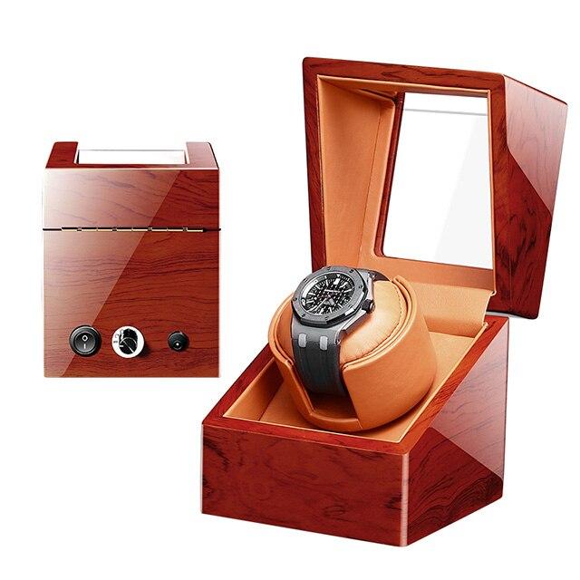 1 + 0 Mabuchi Motor Holz Automatische Sichere Box China Automatische Vollmond Uhr Wickler