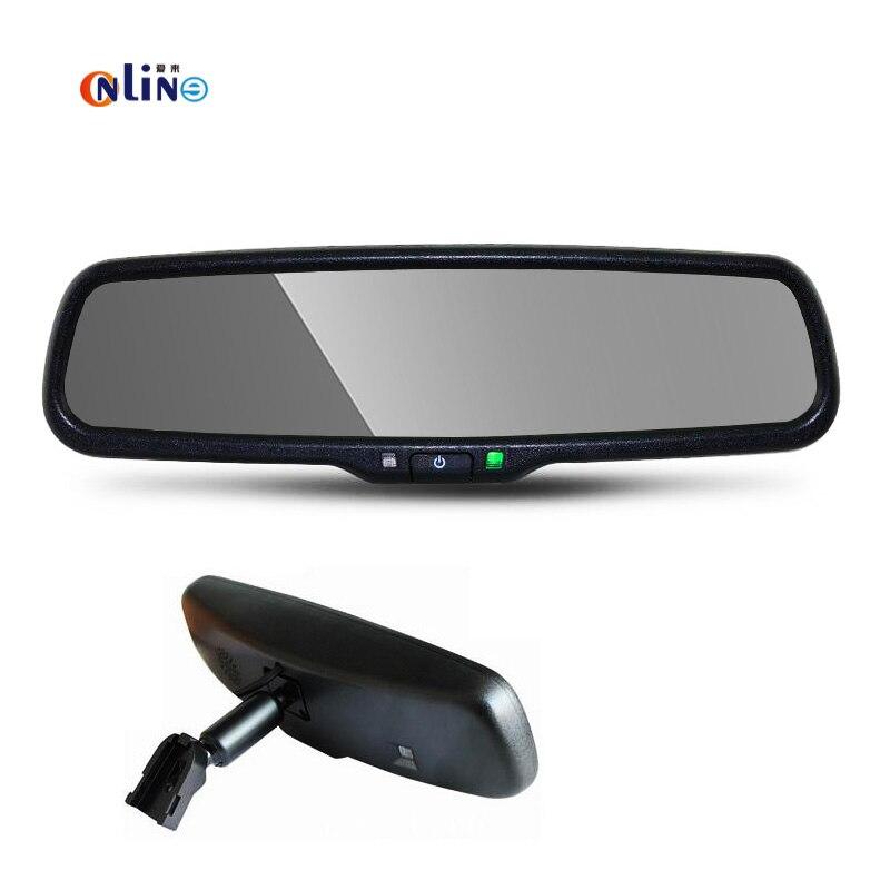 4.3″ Blue Mirror TFT LCD Car Interior Mirror Parking Rearview Mirror Monitor With Special Bracket For VW Skoda Toyota Honda Kia
