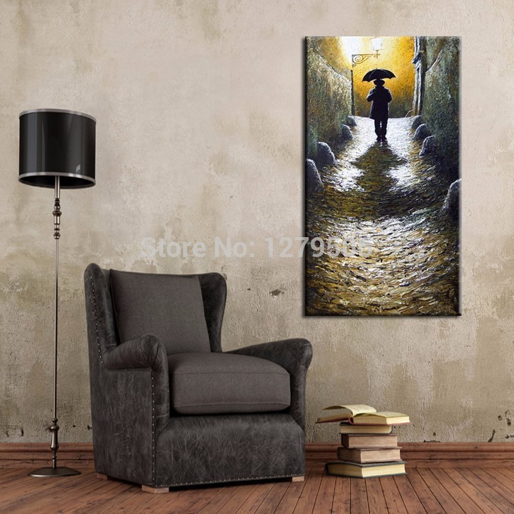 2015 Newest Painting Hand Painted Abstract Landscape Oil Painting On Canvas For Living Room Wall Decoration Artworks.jpg