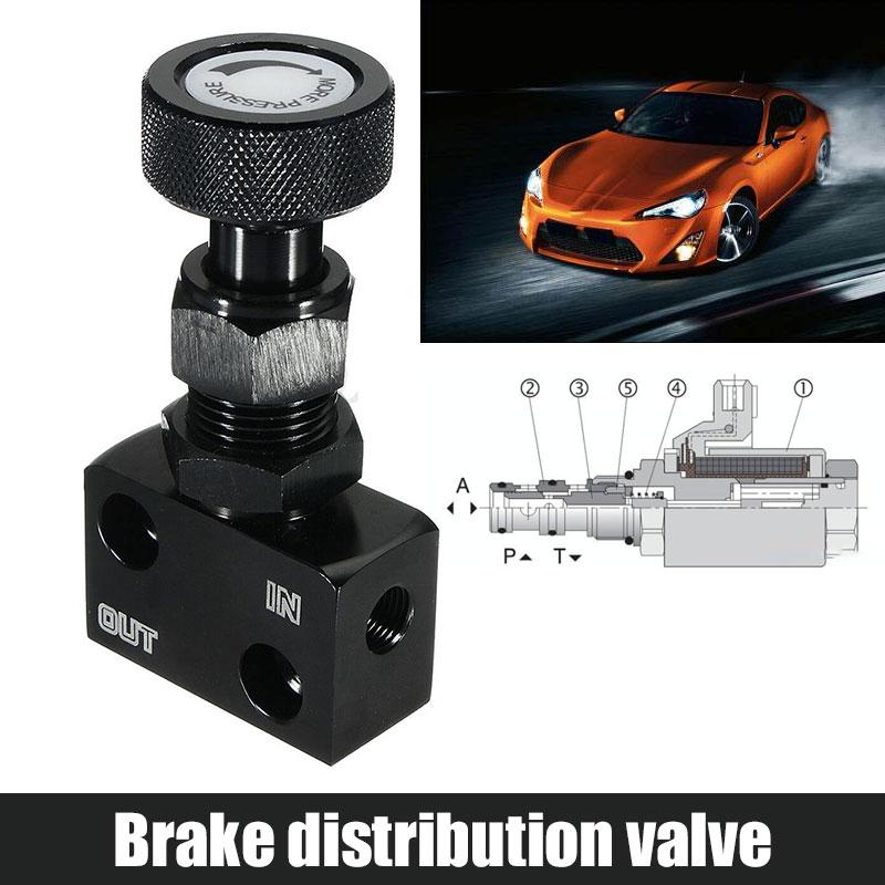 Proportional-Valve Brake Motors CNC Aluminium-Alloy Black Durable