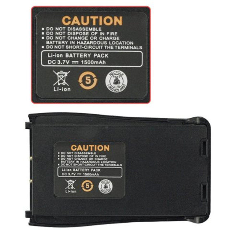 TWO WAY RADIO Baofeng Bf-888s Battery Rechargeable 3.6v 1500mah Bao Feng Accessories For Pofung Bf-666s 777s 888s Uhf Walk Talky