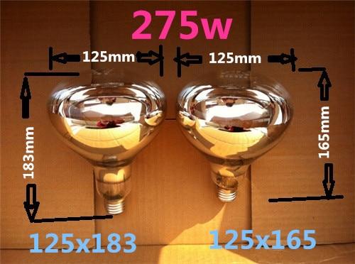 Bathroommaster verwarming lamp 275 w 220 v explosieveilige infrarood ...
