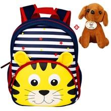 3D Cartoon Children Backpacks Kindergarten Schoolbag Animal Neoprene Kids Backpack Children School Bags Girls Boys Backpacks