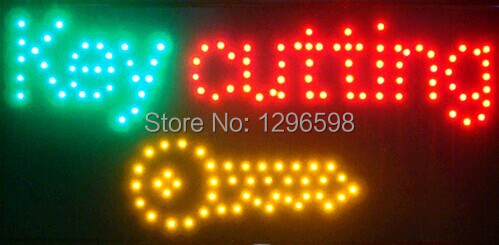 CHENXI Special Offer Hot Sale Graphics 10X19 Inch indoor Ultra Bright key cutting business shop Led sign