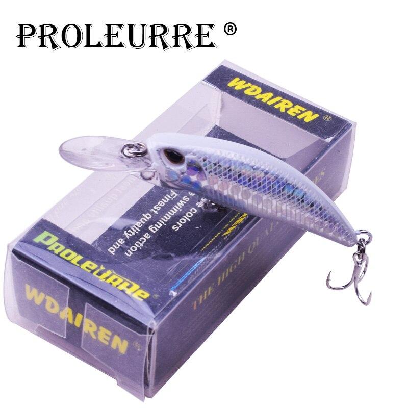 1Pcs Mini Jerkbait Sinking Wobbler Fishing Lures 60mm 5g Laser Hard Bait Minnow Crankbait Bass Fresh Saltwater Fishing Tackle