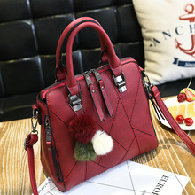 Hairball Crossbody Bags For Women 2018 Leather Bags Shoulder Cheap Women  Bags Female Small Luxury Handbag f89cb09e3fb89