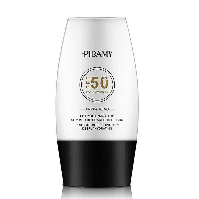 SPF50 Facial Sunscreen Cream Skin Care Isolation Face Cream Protector Whitening UV Sunblock Britening Anti Sun Day Cream