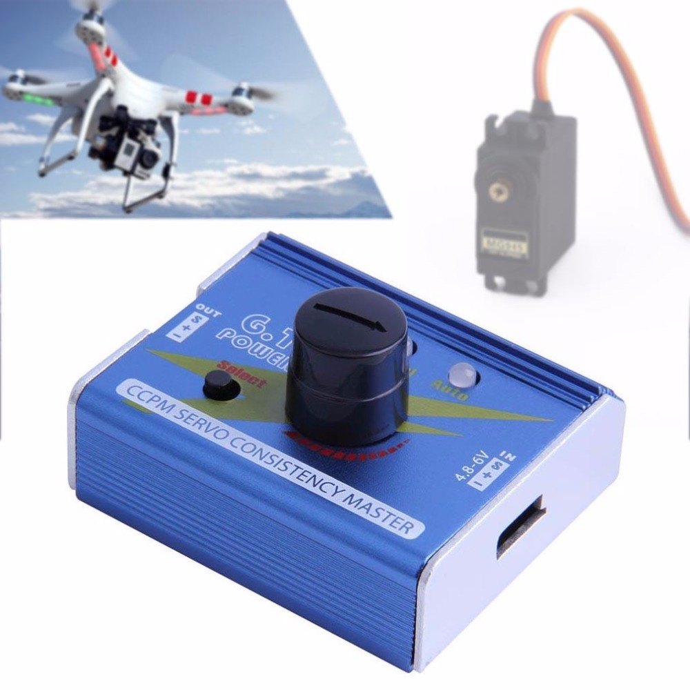 G.T. Power 3CH ESC Servo Tester CCPM Consistency Master Checker Tester 3 mode free shipping voyager 2 4g mini rc sailboat sailing electric ship model yacht handmade boat toys children gift