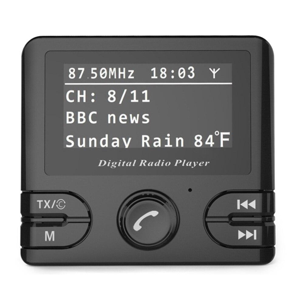 Bluetooth Auto sans fil pour voiture adaptateur Audio mains libres appel Radio récepteur sortie Durable numérique Mini FM transmetteur musique