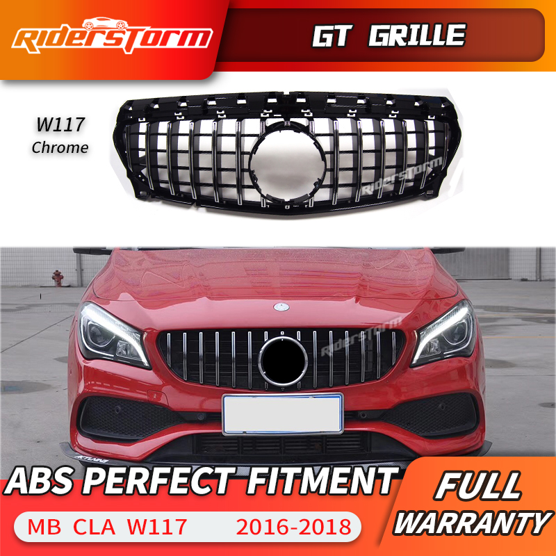 2014 Mercedes Benz Cla Class Camshaft: For CLA W117 Amg GT Grille Front Grill For Mercedes Benz