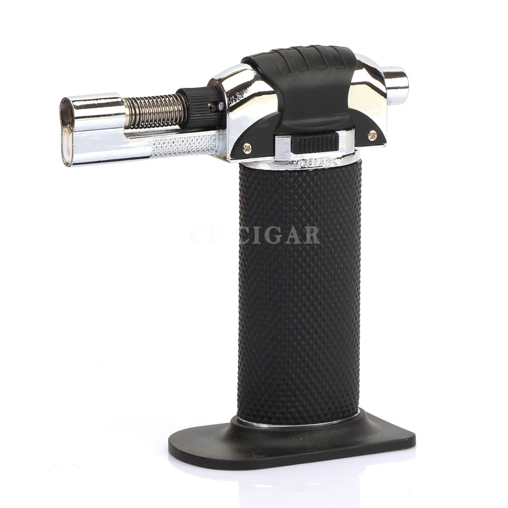 Blue Flame Kitchen: Black 1 Jet Torch Windproof Blue Flame Cigar Cigarette