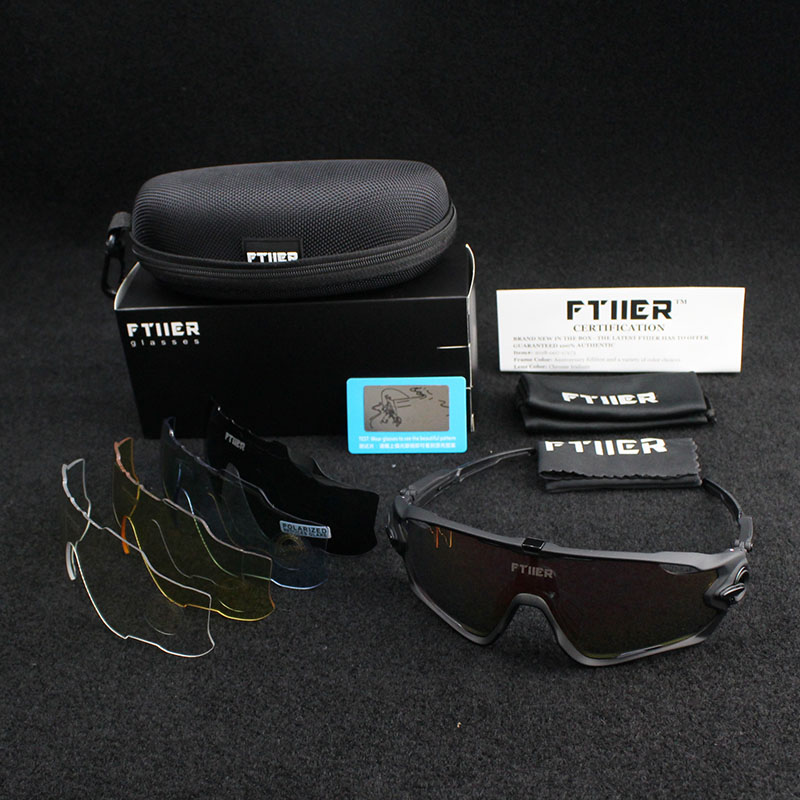 5lens FUll color Lens UV400 TR90 Sports Cycling Glasses Men Women MTB Mountain Road Bike Bicycle