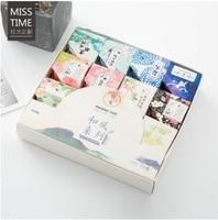 24PCS LOT Soft Breeze Series And Gift Box Decorative Tape Masking Tape Washi Tape