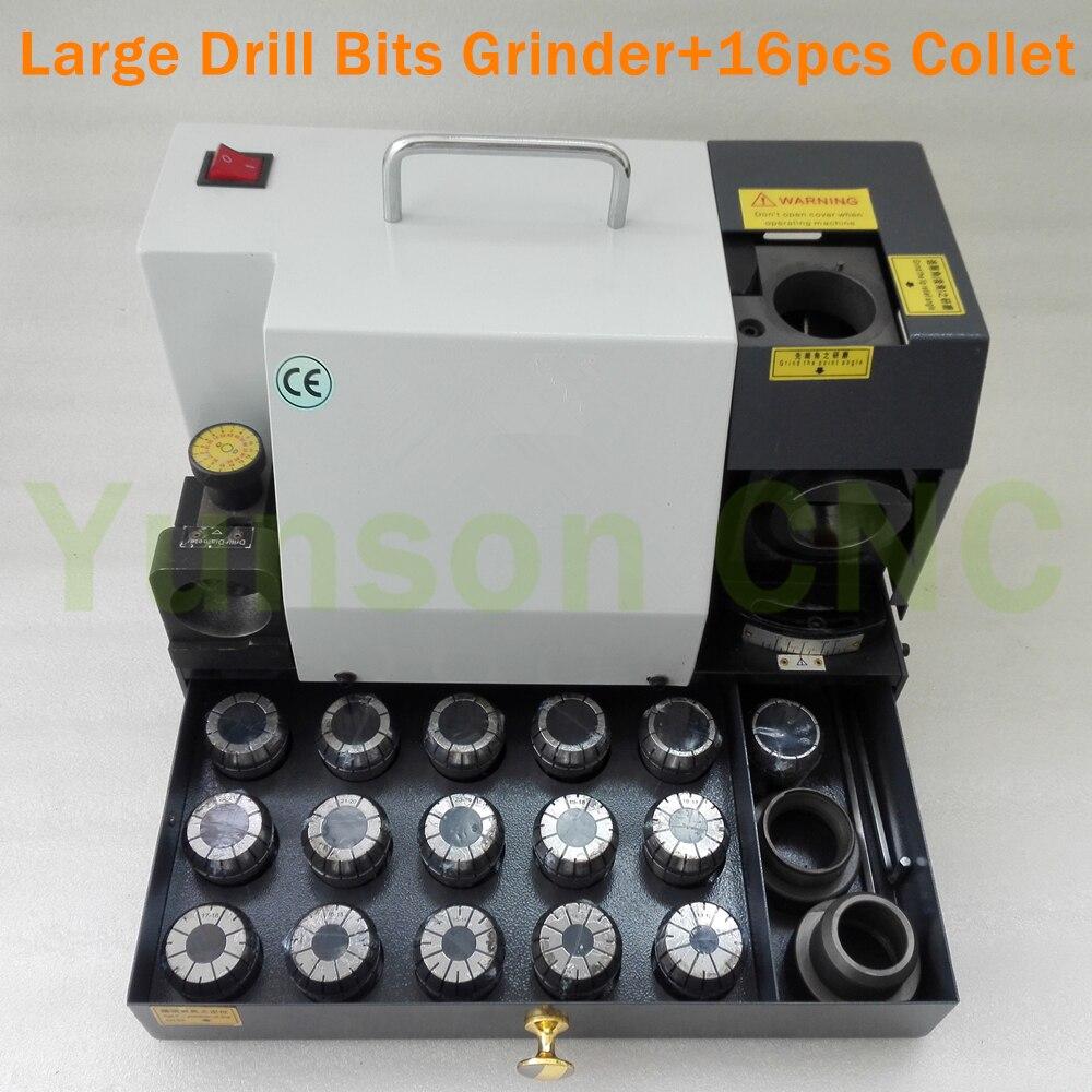 13 30mm Drill Bits Sharpener Grinder 90 to 145 degree angle 1pcs Grinder Wheel for HSS