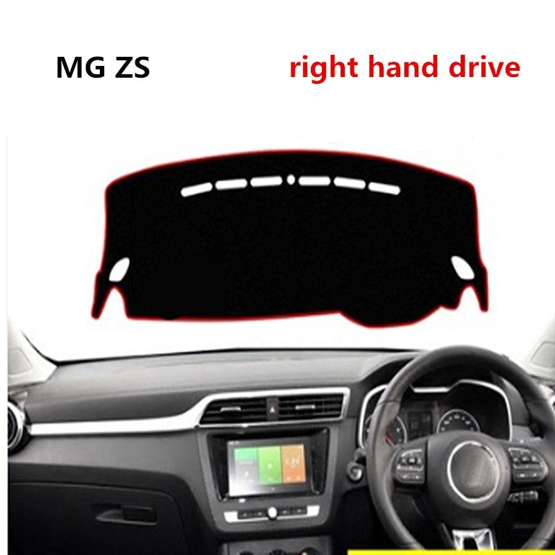 Taijs Car Dashboard Cover Light proof Mat for MG ZS Car Dashboard Mat for MG ZS Right hand drive