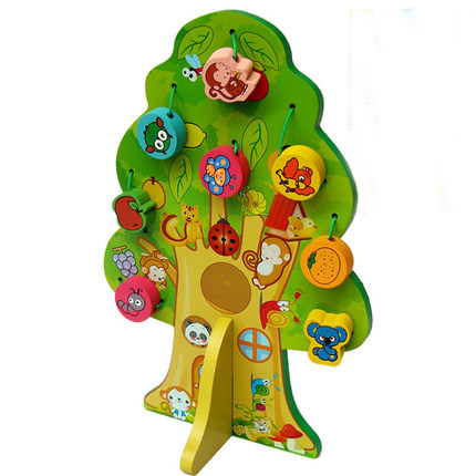 Animals and Fruits Tree for Preschool Education
