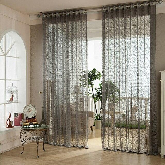 Cortinas cortina para sala de estar chin s estilo cortina for Cortinas en tonos grises