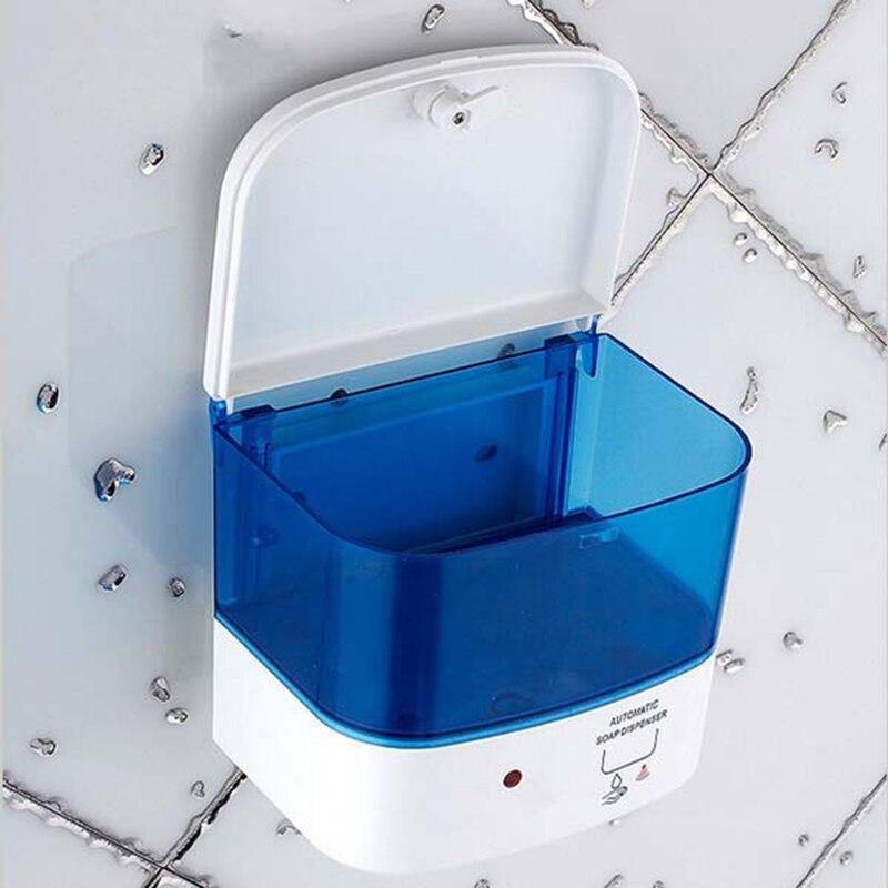 Wall Mounted Soap Sanitizer Bathroom Shower Shampoo Dispenser Infrared Sensor automatic touch free liquid soap dispenser KF398 - 2