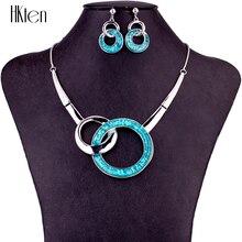 MS1504727 высокое качество Ювелирные наборы кольцо дизайн без свинца и никеля женское ожерелье серьги набор цвет розового золота