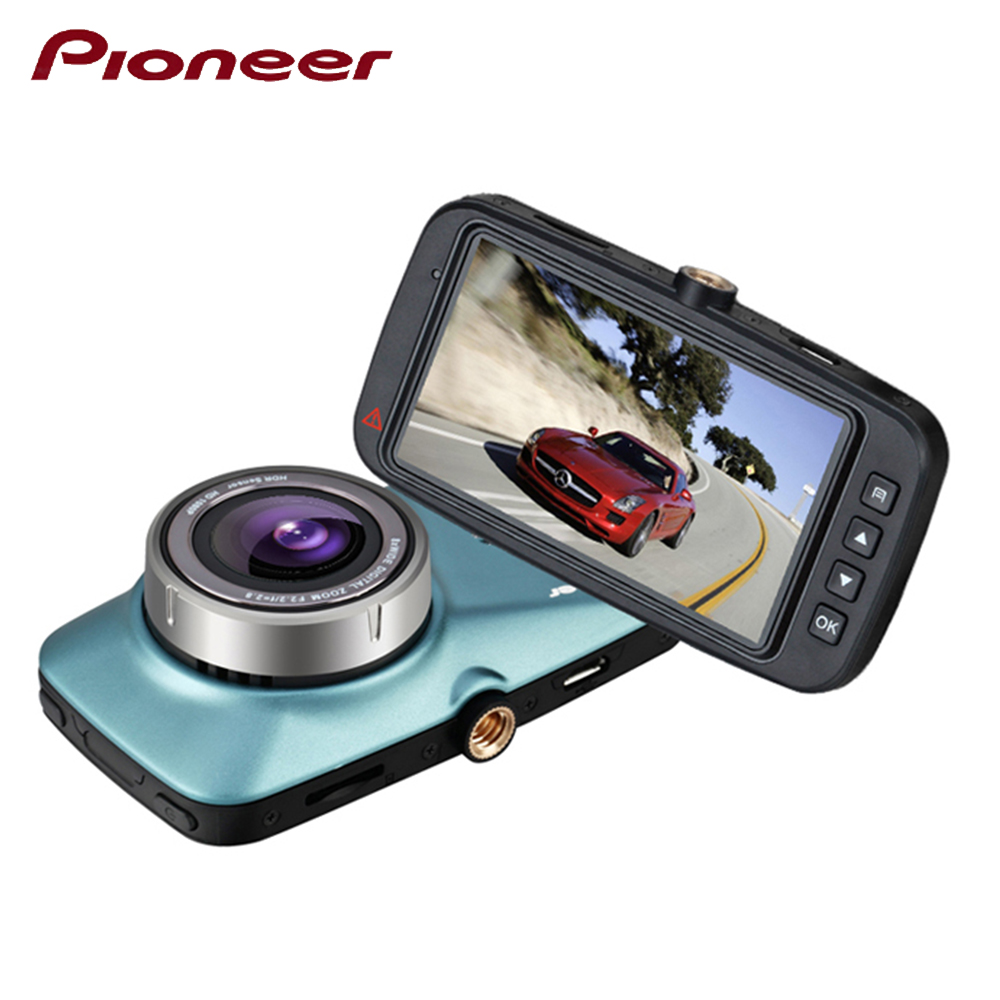 купить Pioneer Original Dashcam Car Camera Recorder DVRS Mirror Full HD 2.7 Inch WDR Lood Record 170 Degree Wide Angle онлайн