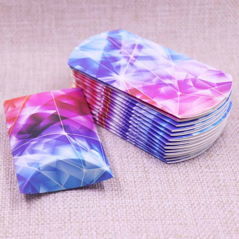 Wholesale Pillow Shape Wedding Candy Gift Box  DIY Favorite Patterns  Birthday Gift Paper&Kraft Box 20X55X80mm  10PCS=1lot
