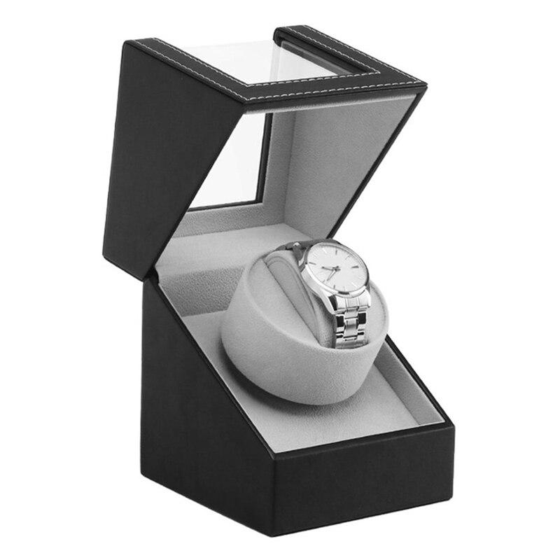 Relógio Enrolador Stand de Exibição Tela de Vibração Do Motor avançado Caixa de Relógio caixa de Jóias Caixa de Relógio Mecânico Automático de Enrolamento