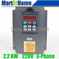 New 2.2kw 3HP 220V 10A Usual VFD Inverter Variable Frequency Drive Inverter for Spindle Motor #SM663 @SD