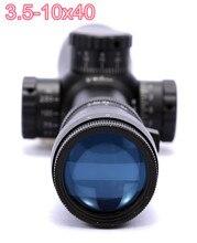 Cheap price M3 3.5-10×40 Rifle Scope Long Range Telescopic Optics Tactical Riflescope for Outdoor Airsoft Gun Hunting Free shipping