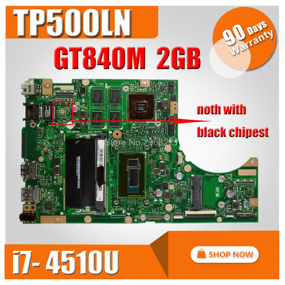 TP500LN Motherboard GT840 i7 4510U REV2 0 For ASUS TP500LN Laptop motherboard TP500LN Mainboard TP500LN Motherboard