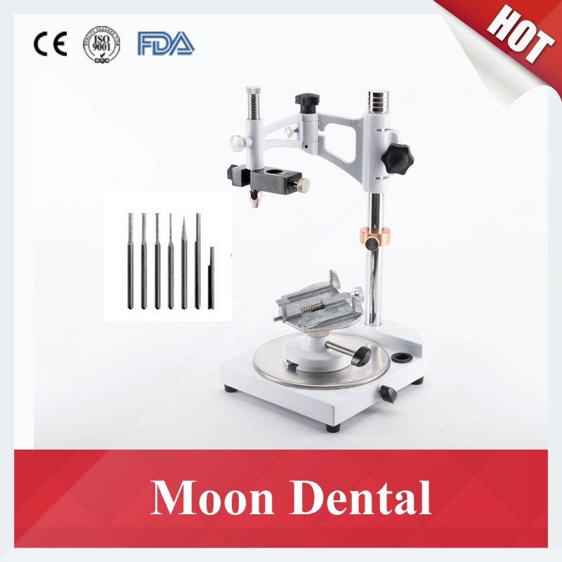 Populaire Dentaire Équipement De Laboratoire Base Carrée Dental Lab Arpenteur Visualizer avec 7 Conseils Entièrement Réglable