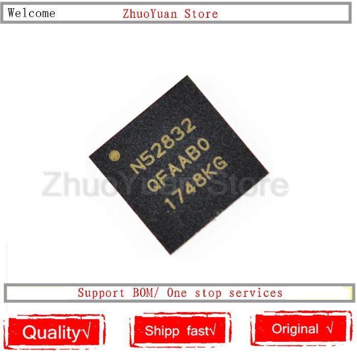 10PCS/lot NRF52832-QFAA NRF52832 NRF52832QFAA NRF52832-QFAA-R N52832 QFN48 New IC Chip