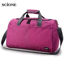 Популярная Спортивная дорожная сумка, тренировочные сумки для спортзала для мужчин и женщин, дорожные прочные сумки, спортивные сумки на плечо для активного отдыха XA398WA