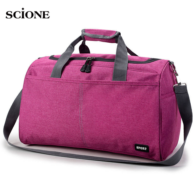 Hot Sports Traveling Bag Training Gym Bags For Men Woman Travel Durable Handbags Outdoor Shoulder Gymtas Sac De Sport XA398WA