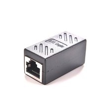 Hot Sale Female to Female Network LAN Connector Adapter Coupler Extender RJ45 Ethernet Cable Join Extension Converter Coupler