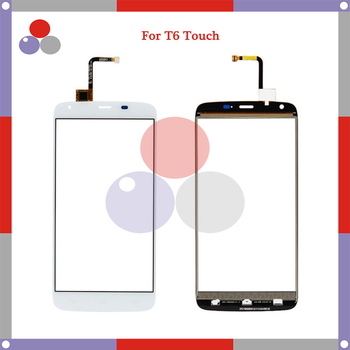 10pcs/lot 5.5'' For Doogee T6 Touch Screen Panel Sensor Digitizer Outer Glass Lens
