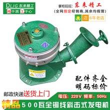 Пятьсот ватт постоянный магнит бесщеточный Чистый медный провод 500 Вт небольшой гидрогенератор бытовой 220 В