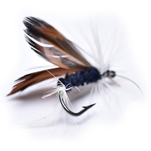 2pcs Lures Fly fishing Hooks Butterfly Insects Style Salmon Flies Trout Single Dry Fly Fishing Lure Fishing Tackle