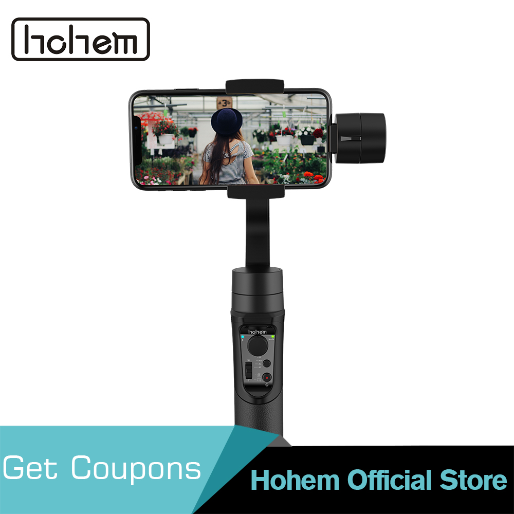 Hohem iSteady Mobile Smartphone Gimbal 3-Axis Handheld Stabilizer for iPhone XS XR X 8 7 7Plus 6 6s for Samsung for Smartphone