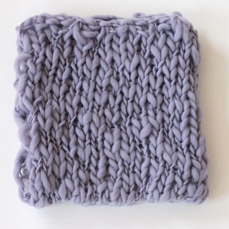 шерстяной вязаный крючком для новорожденных девочек одеяло для