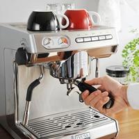 KD 270S Commercial Double Pump Coffee Machine Italian Style Steam Espresso Coffee Maker Pump Espresso Coffee Machine 15 BAR