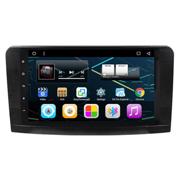 9 Android Car Radio DVD GPS Navigation Central Multimedia for Mercedes Benz ML W164 ML300 ML320 ML350 ML430 ML450 image
