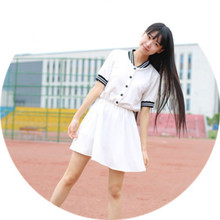Summer JK uniform short-sleeved dress sailor suit fishtail skirt sweet fresh campus wind school uniforms