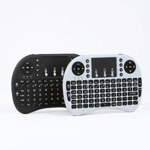 Image 5 - Беспроводная мини клавиатура I8 2,4 ГГц с подсветкой, сенсорная мышь, батарея AAA * 2 со светодиодной подсветкой для смарт ТВ, мини ПК