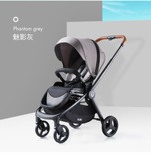 high landscape baby stroller Two-way baby Pram lightweight folding  baby stroller Full awning design baby stroller baby stroller folding shock absorber high landscape can be two way