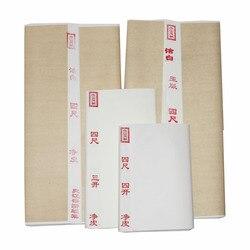 Каллиграфия сырая Xuan бумага Китайская каллиграфия кисть для письма практика рисовая бумага китайская свободная ручная работа кисть для ри...