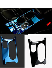 Free shipping autowater beverage holder stikcer car console box cover in  for Mercedes Benz CLA/GLA/A Class accessories
