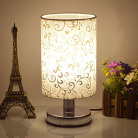 Dimmable / Non adjustable desk LED table lamp bedroom cloth creative fashion modern European Night light indoor lighting