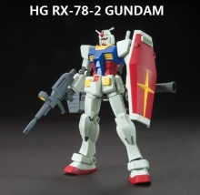 цена на Japaness Bandai HG 1/144 Gundam Model RX-78-2 Ready Pleayer One RIKU'S MOBILE SUIT Super Robot Unchained Mobile Suit Kids Toys